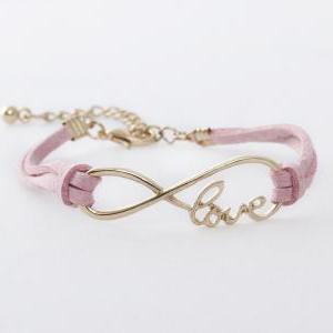 Infinity Love Charm Friendship Brac..