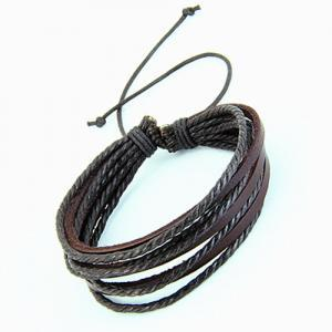 Leather bracelet,Men bracelet,fashi..