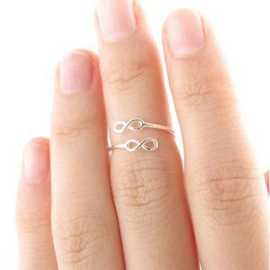 two 8 knuckle ring