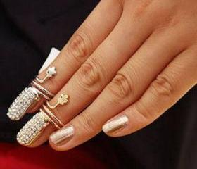 Nail knuckle ring, g..