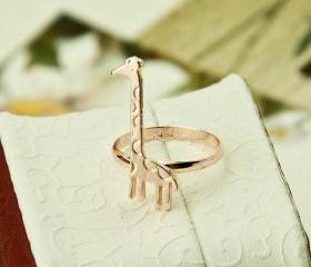 Giraffe Ring Jewelry..