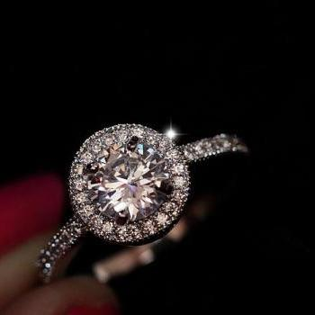 Simulation wedding ring bling bling ring