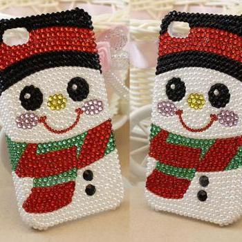 snow case bling bling case iphone 4 case iphone 4s case iphone 5 case iphone 5s case