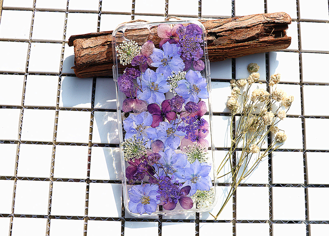 premium selection c8ddf e5339 Purple Pressed Flower Case Real Dried Flowers Phone Case Iphone 7 Case  Iphone 7 Plus Case Iphone 6 Case Iphone 6 Plus Case Samsung S7 Case Samsung  S6 ...